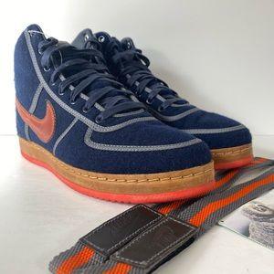 Nike Vandal Hi Inside Out Obsidian Orange Sneakers